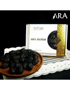 Kurma Ajwa Jumbo PREMIUM KEMTAN ARA DATES 1kg Original