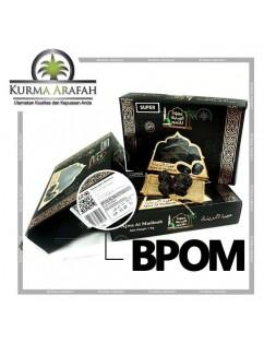 Kurma ajwa Premium 1kg BPOM asli madinah Nabi rosul Besar Jumbo