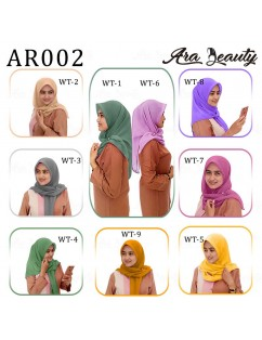 Jilbab BELLA SQUARE AR002 - ARA BEAUTY
