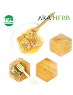 Madu Sarang Asli Honeycomb Malifera / Madu Herbal Murni 500gr
