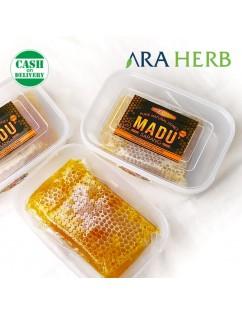 Madu Sarang Asli 250gr Honeycomb Malifera / Madu Herbal Murni