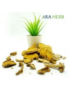 Temulawak Rajang Iris Kering 1kg ARA HERB Original / Jamu Herbal