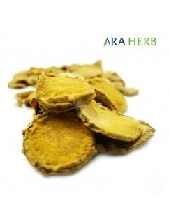 Temulawak Rajang Iris Kering 500gr ARA HERB Original / Jamu Herbal