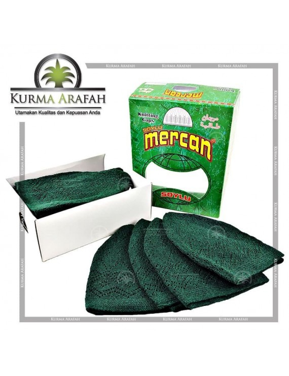 Souvenir Peci Kopyah Haji Umroh Mercan Per Pcs