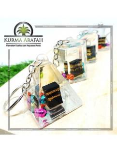 Souvenir Gantungan Kunci Ka'bah 3D Per Pcs Oleh Oleh Haji