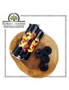 Arang Buhur / Arang Magic Charcoal Briket Buhur Bulat Active