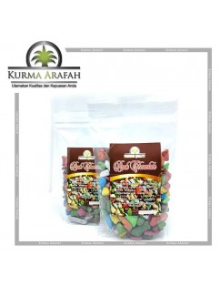 Coklat Batu 250gr / Coklat Kerikil /Coklat Import / Coklat Mesir