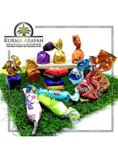 Coklat Arab Mix 1kg Import Manis Turkey Oleh Oleh Haji