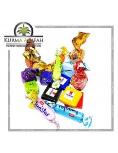 Coklat Arab Mix 1kg Import Manis Turkey Oleh Oleh Haji