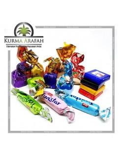 Coklat Arab Mix 500gr / Coklat Mix / Coklat Import / Oleh-Oleh Haji