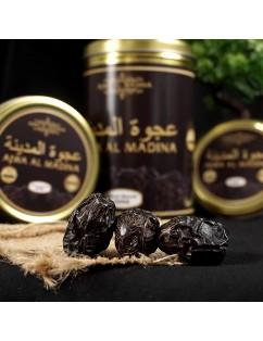 Kurma Ajwa Kaleng 500 gr Ajwa Al Madina Ajwa Nabi Kemasan Premium